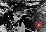 Image of German soldiers in trenches Europe, 1916, second 35 stock footage video 65675071210