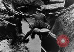 Image of German soldiers in trenches Europe, 1916, second 36 stock footage video 65675071210