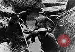 Image of German soldiers in trenches Europe, 1916, second 40 stock footage video 65675071210