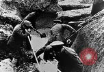 Image of German soldiers in trenches Europe, 1916, second 41 stock footage video 65675071210