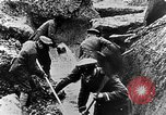Image of German soldiers in trenches Europe, 1916, second 42 stock footage video 65675071210