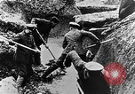 Image of German soldiers in trenches Europe, 1916, second 43 stock footage video 65675071210