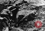 Image of German soldiers in trenches Europe, 1916, second 46 stock footage video 65675071210