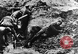 Image of German soldiers in trenches Europe, 1916, second 47 stock footage video 65675071210