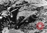Image of German soldiers in trenches Europe, 1916, second 49 stock footage video 65675071210