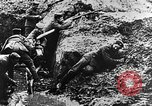 Image of German soldiers in trenches Europe, 1916, second 51 stock footage video 65675071210