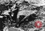 Image of German soldiers in trenches Europe, 1916, second 52 stock footage video 65675071210