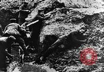 Image of German soldiers in trenches Europe, 1916, second 53 stock footage video 65675071210