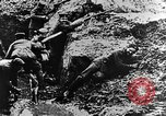 Image of German soldiers in trenches Europe, 1916, second 54 stock footage video 65675071210