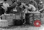 Image of German soldiers in trenches Europe, 1916, second 61 stock footage video 65675071210