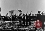 Image of German volunteers drill in World War I Europe, 1916, second 4 stock footage video 65675071211