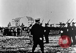 Image of German volunteers drill in World War I Europe, 1916, second 5 stock footage video 65675071211