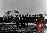 Image of German volunteers drill in World War I Europe, 1916, second 8 stock footage video 65675071211