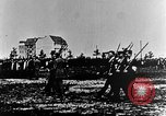 Image of German volunteers drill in World War I Europe, 1916, second 9 stock footage video 65675071211
