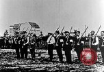 Image of German volunteers drill in World War I Europe, 1916, second 10 stock footage video 65675071211