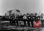Image of German volunteers drill in World War I Europe, 1916, second 11 stock footage video 65675071211