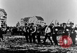 Image of German volunteers drill in World War I Europe, 1916, second 12 stock footage video 65675071211