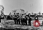 Image of German volunteers drill in World War I Europe, 1916, second 13 stock footage video 65675071211