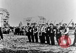 Image of German volunteers drill in World War I Europe, 1916, second 14 stock footage video 65675071211