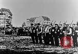 Image of German volunteers drill in World War I Europe, 1916, second 15 stock footage video 65675071211