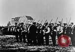 Image of German volunteers drill in World War I Europe, 1916, second 16 stock footage video 65675071211