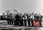 Image of German volunteers drill in World War I Europe, 1916, second 17 stock footage video 65675071211