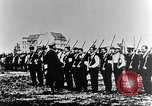 Image of German volunteers drill in World War I Europe, 1916, second 18 stock footage video 65675071211