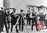 Image of German volunteers drill in World War I Europe, 1916, second 19 stock footage video 65675071211