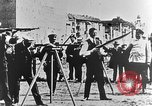Image of German volunteers drill in World War I Europe, 1916, second 21 stock footage video 65675071211