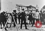 Image of German volunteers drill in World War I Europe, 1916, second 28 stock footage video 65675071211