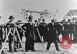 Image of German volunteers drill in World War I Europe, 1916, second 34 stock footage video 65675071211