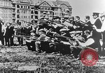 Image of German volunteers drill in World War I Europe, 1916, second 38 stock footage video 65675071211