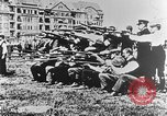 Image of German volunteers drill in World War I Europe, 1916, second 41 stock footage video 65675071211