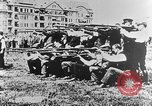 Image of German volunteers drill in World War I Europe, 1916, second 42 stock footage video 65675071211