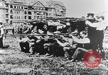 Image of German volunteers drill in World War I Europe, 1916, second 43 stock footage video 65675071211