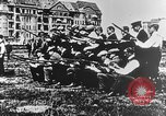 Image of German volunteers drill in World War I Europe, 1916, second 44 stock footage video 65675071211