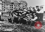 Image of German volunteers drill in World War I Europe, 1916, second 45 stock footage video 65675071211