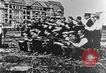 Image of German volunteers drill in World War I Europe, 1916, second 46 stock footage video 65675071211