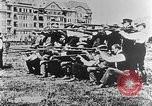 Image of German volunteers drill in World War I Europe, 1916, second 47 stock footage video 65675071211