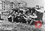 Image of German volunteers drill in World War I Europe, 1916, second 49 stock footage video 65675071211