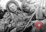 Image of British soldiers wearing gas masks Europe, 1916, second 1 stock footage video 65675071218