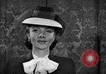 Image of fashion parade New York United States USA, 1944, second 38 stock footage video 65675071248