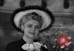 Image of fashion parade New York United States USA, 1944, second 57 stock footage video 65675071248