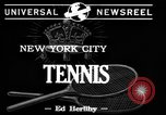 Image of Tennis match New York United States USA, 1944, second 1 stock footage video 65675071250