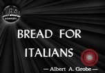 Image of bread supplied to Italian citizens in World War 2 Italy, 1944, second 2 stock footage video 65675071256