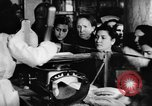 Image of bread supplied to Italian citizens in World War 2 Italy, 1944, second 34 stock footage video 65675071256