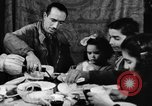 Image of bread supplied to Italian citizens in World War 2 Italy, 1944, second 39 stock footage video 65675071256
