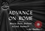 Image of Allied troops Italy, 1944, second 18 stock footage video 65675071258