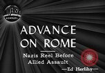 Image of Allied troops Italy, 1944, second 22 stock footage video 65675071258