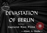 Image of ruins Berlin Germany, 1944, second 4 stock footage video 65675071259